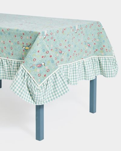 Carolyn Donnelly Eclectic Ditsy Frill Tablecloth