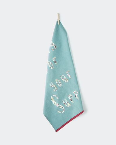 Carolyn Donnelly Eclectic Sing For Your Supper Tea Towel