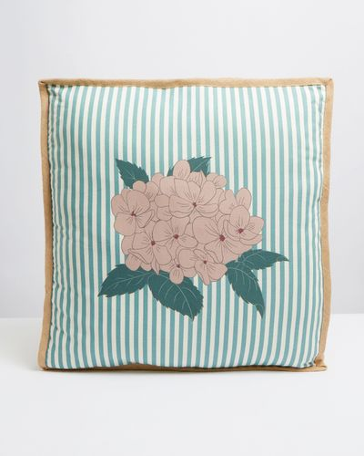 Carolyn Donnelly Eclectic Jute Box Cushion