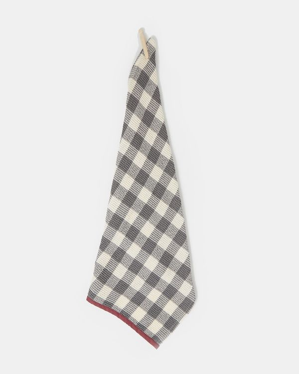 Carolyn Donnelly Eclectic Check Waffle Tea Towel