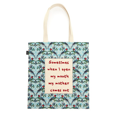 pink Carolyn Donnelly Eclectic Mum Tote Bag