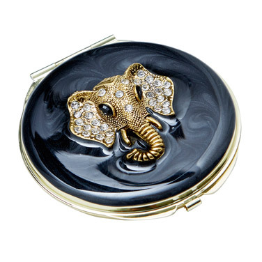 blackCarolyn Donnelly Eclectic Compact Mirror