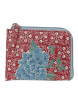 red Carolyn Donnelly Eclectic Print Purse