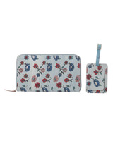 b6826078c2bd4 ... light-blue Carolyn Donnelly Eclectic Travel Wallet And Luggage Tag Set  ...