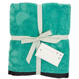 green Carolyn Donnelly Eclectic Pet Towel