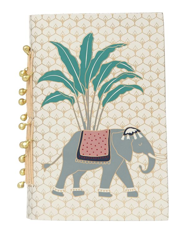 Carolyn Donnelly Eclectic Recycled Leather Notebook