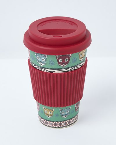 Carolyn Donnelly Eclectic Bamboo Travel Mug