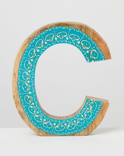 Carolyn Donnelly Eclectic Alphabet Hanging Letter