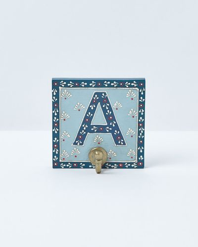 Carolyn Donnelly Eclectic Alphabet Wall Hook