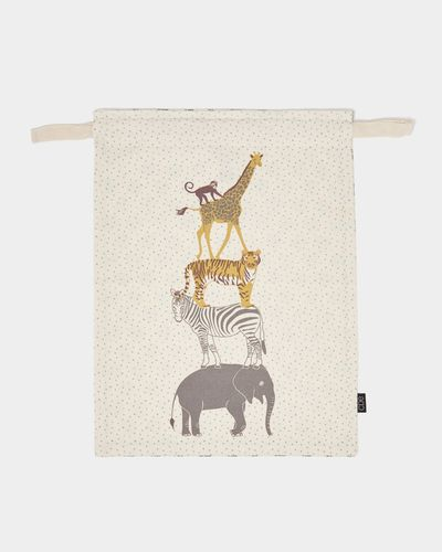 Carolyn Donnelly Eclectic Printed Kids Storage Bag