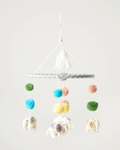 Carolyn Donnelly Eclectic Felt Baby Mobile