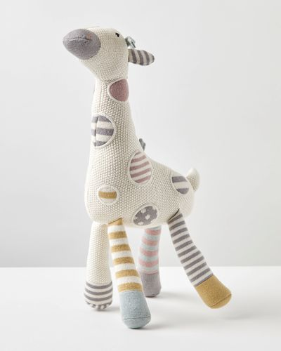 Carolyn Donnelly Eclectic Knitted Giraffe Toy