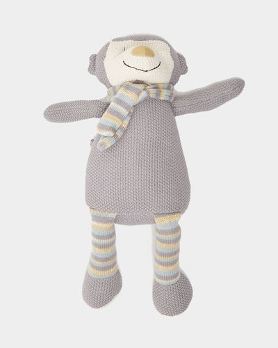Carolyn Donnelly Eclectic Knitted Monkey Toy