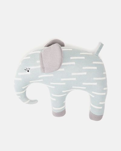 Carolyn Donnelly Eclectic Knitted Elephant Toy