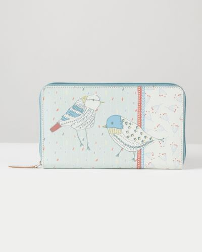 Carolyn Donnelly Eclectic Recycled Leather Travel Wallet