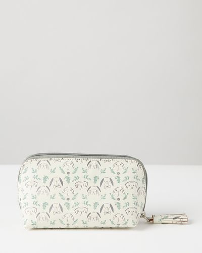 Carolyn Donnelly Eclectic Printed Recycled Leather Pouch