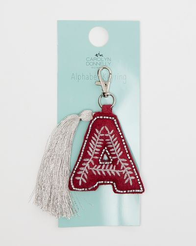 Carolyn Donnelly Eclectic Alphabet Key Ring