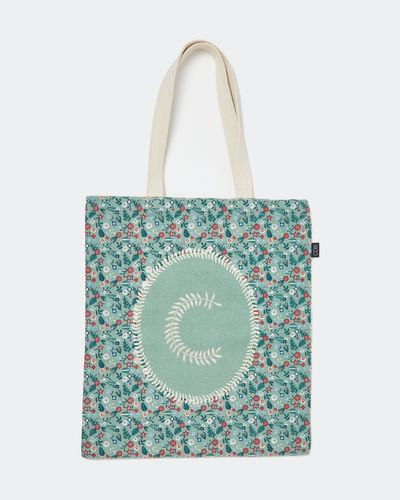 Carolyn Donnelly Eclectic Alphabet Tote Bag