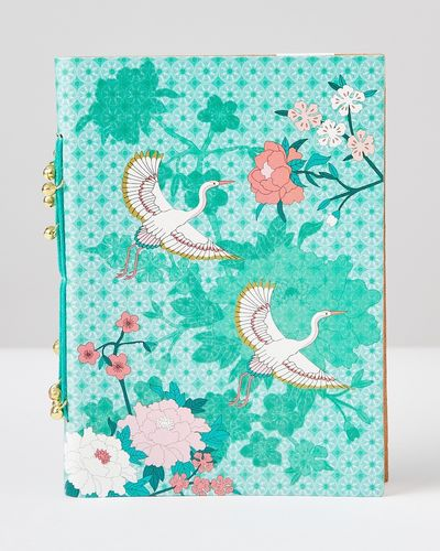 Carolyn Donnelly Eclectic 5X7 Leather Notebook