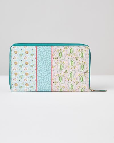 Carolyn Donnelly Eclectic Printed Leather Wallet thumbnail