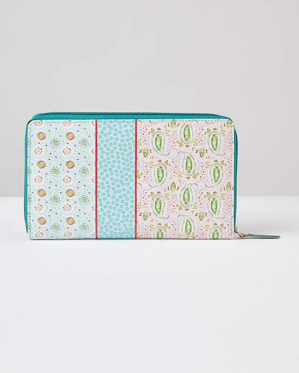 Carolyn Donnelly Eclectic Printed Leather Wallet