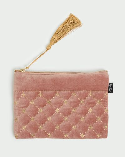 Carolyn Donnelly Eclectic Quilted Pouch thumbnail