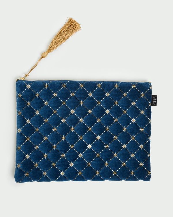 Carolyn Donnelly Eclectic Quilted Pouch