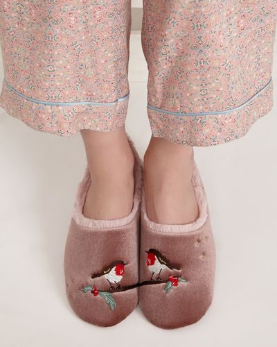 Carolyn Donnelly Eclectic Robin Slipper