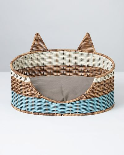 Carolyn Donnelly Eclectic Polyrattan Cat Bed With Ears