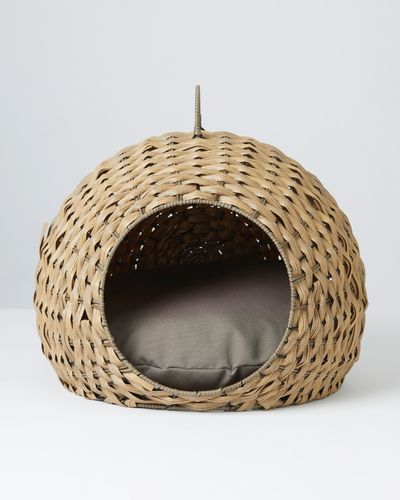 Carolyn Donnelly Eclectic Woven Cat Bed