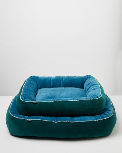 Carolyn Donnelly Eclectic Velvet Dog Bed
