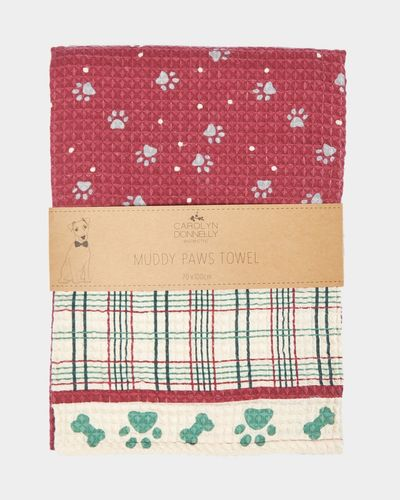 Carolyn Donnelly Eclectic Muddy Paws Towel