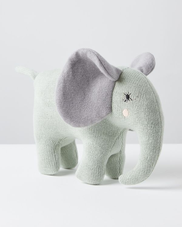 Carolyn Donnelly Eclectic Knitted Elephant