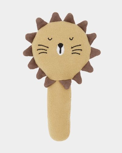 Carolyn Donnelly Eclectic Sleepy Lion Rattle