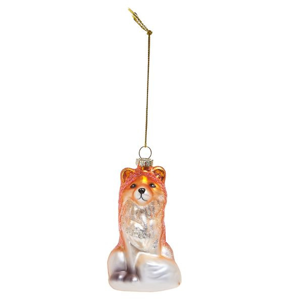 Carolyn Donnelly Eclectic Glass Fox Decoration