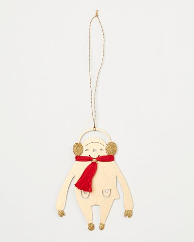 Carolyn Donnelly Eclectic Monkey With Tassel