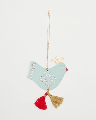 Carolyn Donnelly Eclectic Bird With Tassel