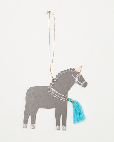 Carolyn Donnelly Eclectic Unicorn With Tassel
