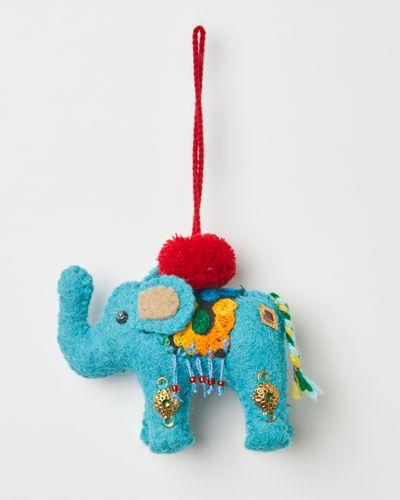 Carolyn Donnelly Eclectic Felt Elephant