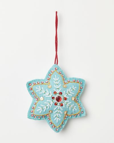 Carolyn Donnelly Eclectic Sequin Snowflake
