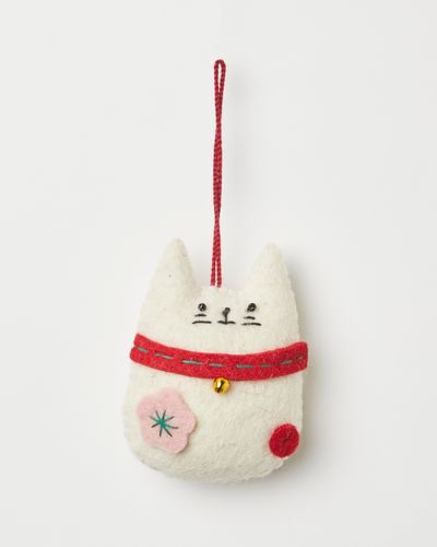 Carolyn Donnelly Eclectic Lucky Cat Decoration