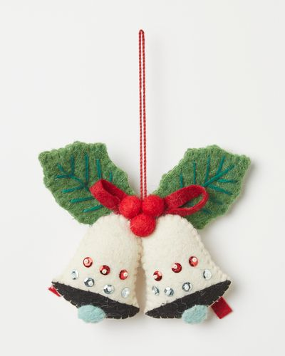 Carolyn Donnelly Eclectic Christmas Bells Decoration