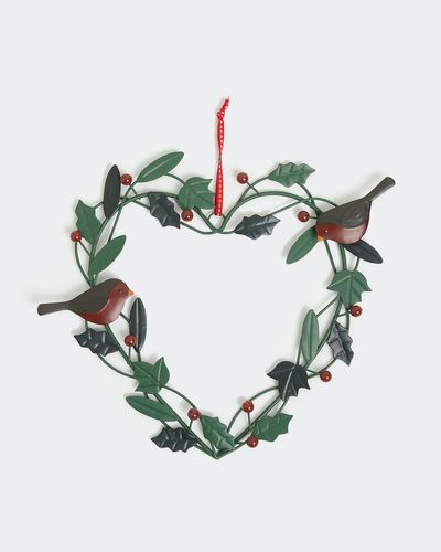 Carolyn Donnelly Eclectic Robin Wreath