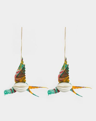 Carolyn Donnelly Eclectic Paper Bird - Pack Of 2