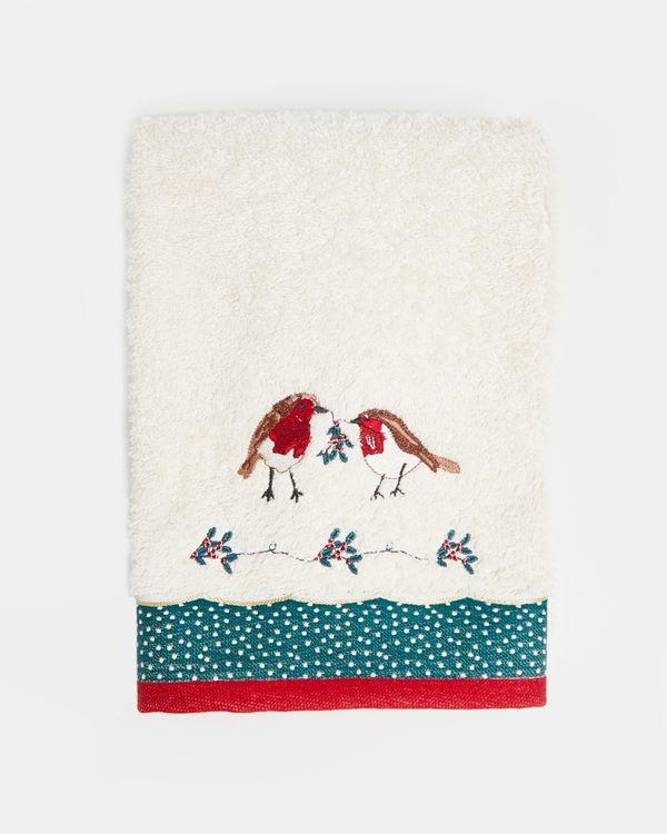Carolyn Donnelly Eclectic Robin Hand Towel