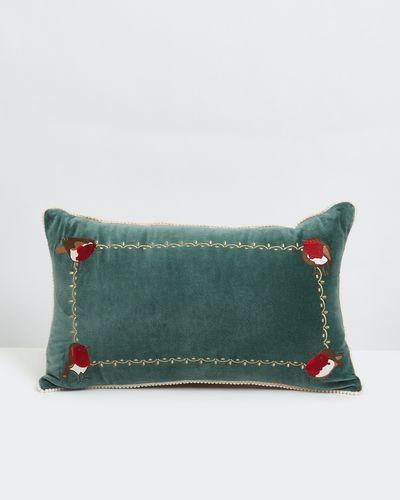 Carolyn Donnelly Eclectic Robin Rectangular Cushion thumbnail