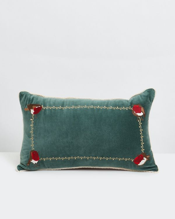 Carolyn Donnelly Eclectic Robin Rectangular Cushion