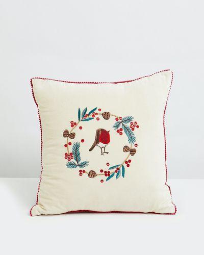 Carolyn Donnelly Eclectic Robin Cushion