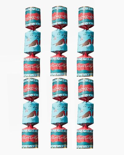 Carolyn Donnelly Eclectic Christmas Crackers - Pack Of 6