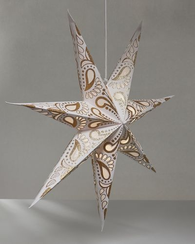 Carolyn Donnelly Eclectic LED Paper Star